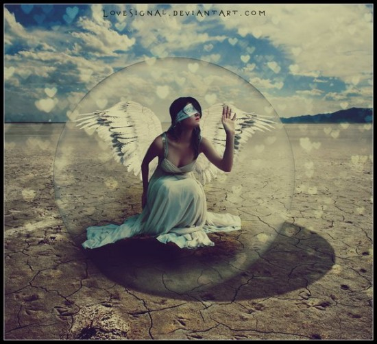 The Fragile Angel by ~lovesignal