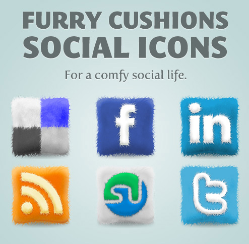furry release Most beautiful social icons sets