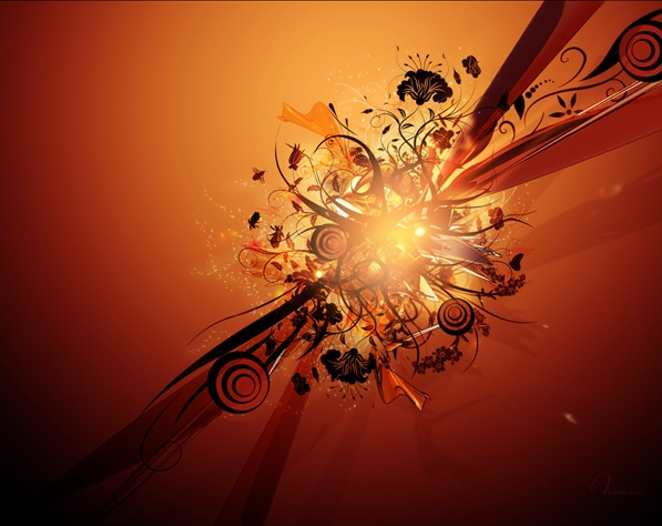 tut12 20 photoshop tutorials for creating wallpaper