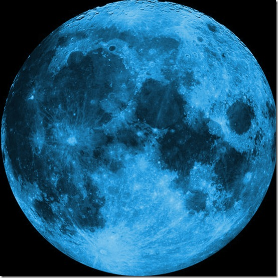 Blue Moon  by mistressofthmidnight thumb 30 Beautiful Moon Inspirations