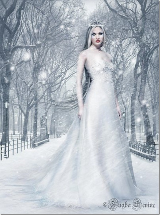 ICE QUEEN by intano thumb 35 Wonderful Ice Queen Inspirations