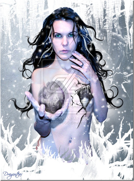Ice Queen by Dragontear666 thumb 35 Wonderful Ice Queen Inspirations