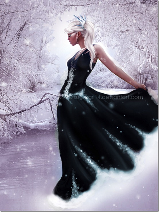 Ice Queen by Sugargrl14 thumb 35 Wonderful Ice Queen Inspirations