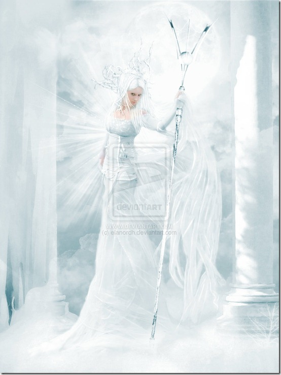Ice Queen by elanordh thumb 35 Wonderful Ice Queen Inspirations