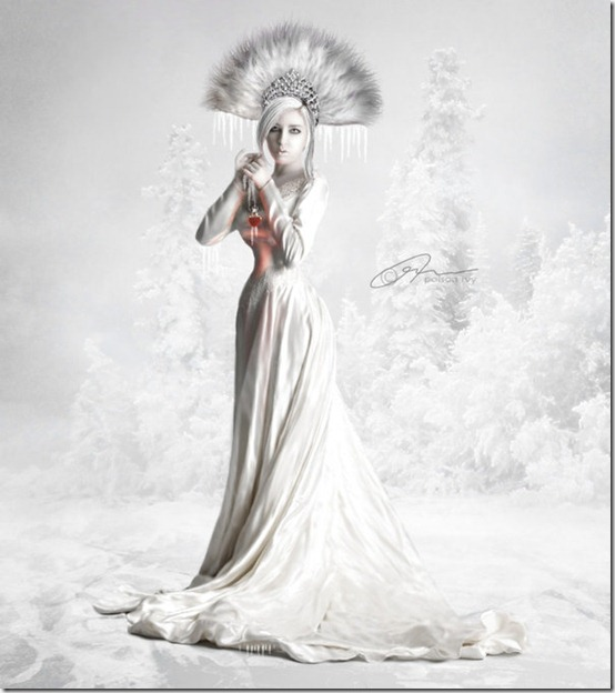 Ice Queen by made in utopia thumb 35 Wonderful Ice Queen Inspirations
