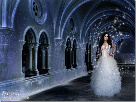 Ice Queen in her Frozen Castle by adunio thumb 35 Wonderful Ice Queen Inspirations