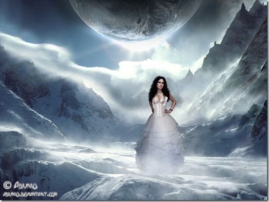 Ice Queen in her Ice Land by adunio thumb 35 Wonderful Ice Queen Inspirations