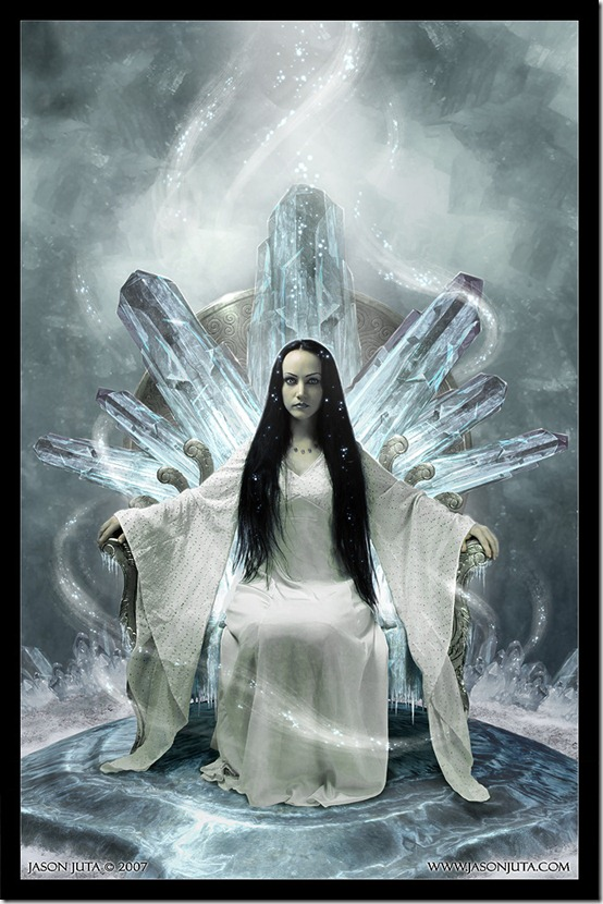 Snow Queen by higherdepths thumb 35 Wonderful Ice Queen Inspirations