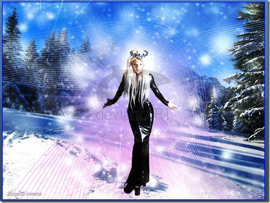 The Snow Queen by Smirnoff Sweetie thumb 35 Wonderful Ice Queen Inspirations