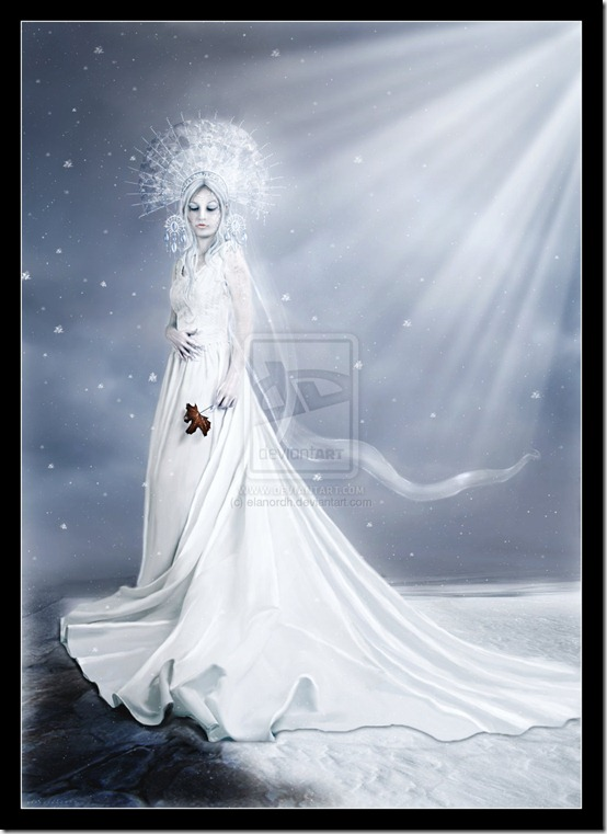 Where Winter Reigns by elanordh thumb 35 Wonderful Ice Queen Inspirations