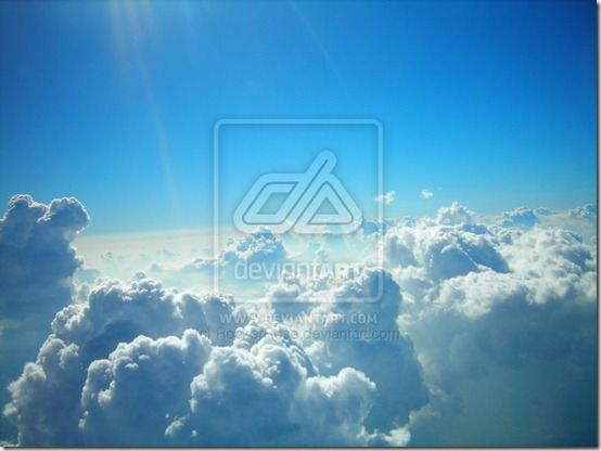 Sky by RockerRose thumb 40 Amazing Examples of Sky Photography