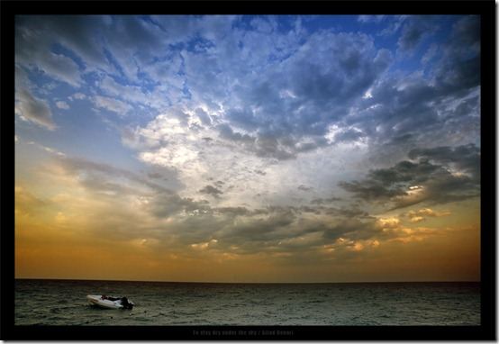 To stay dry Under the sky by gilad thumb 40 Amazing Examples of Sky Photography