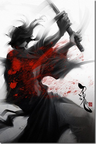 Samurai Spirit 5   Slasher by Artgerm thumb 40 Extraordinary Examples of Samurai Photography
