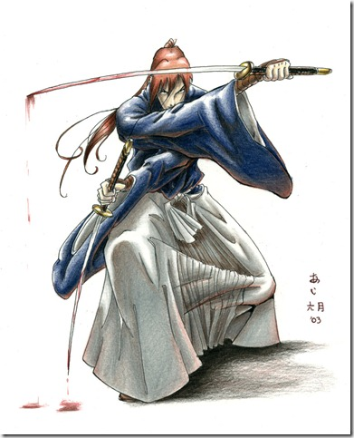 Samurai X   Battousai by Ai Dax thumb 40 Extraordinary Examples of Samurai Photography