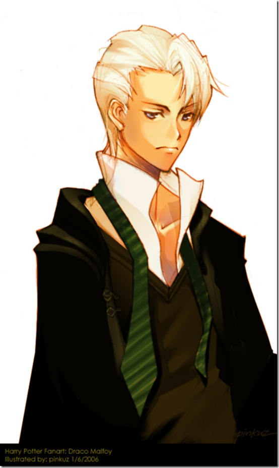 FANART  Harry Potter   Malfoy by pinkuz thumb 60 Amazing Pictures Inspired By Harry Potter Movie