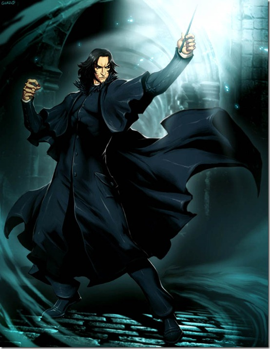 HP   Severus Snape by GENZOMAN thumb 60 Amazing Pictures Inspired By Harry Potter Movie