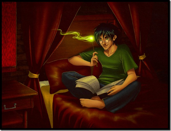 Harry Potter Commission by verauko thumb 60 Amazing Pictures Inspired By Harry Potter Movie