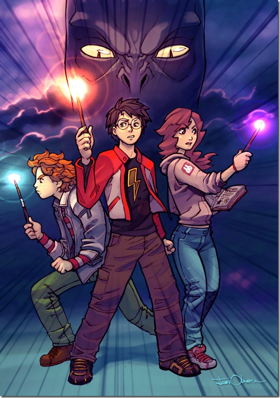 Harry Potter Fan Art by seikion thumb 60 Amazing Pictures Inspired By Harry Potter Movie