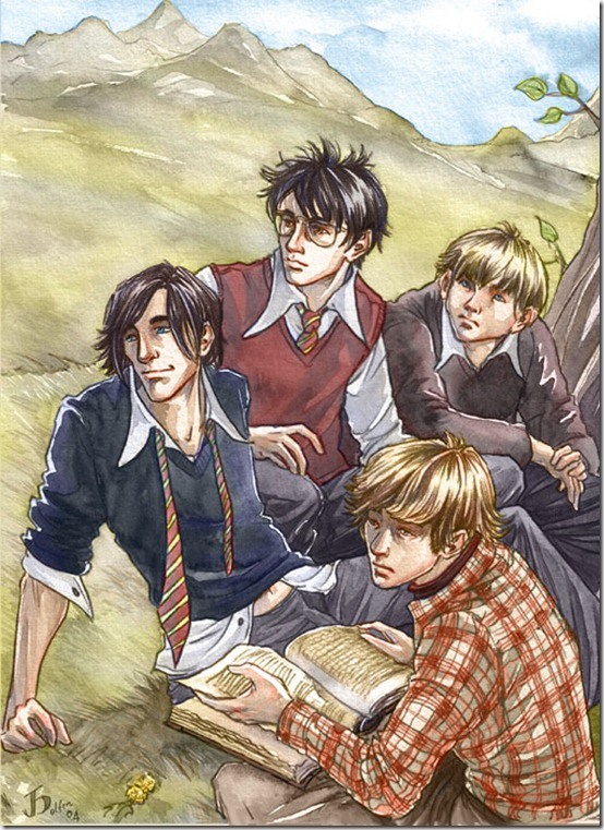 Harry Potter  Marauders thumb 60 Amazing Pictures Inspired By Harry Potter Movie