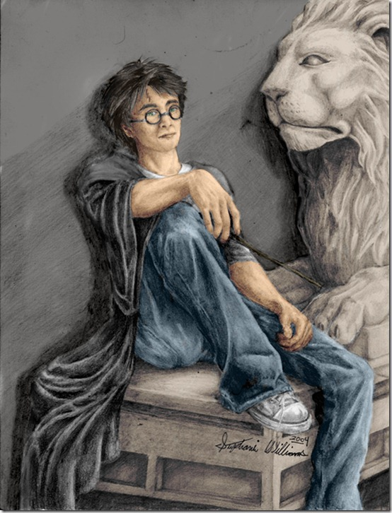 Harry Potter by Dinaitius thumb 60 Amazing Pictures Inspired By Harry Potter Movie