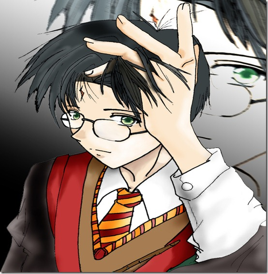 Harry Potter by EvilFairy144 thumb 60 Amazing Pictures Inspired By Harry Potter Movie