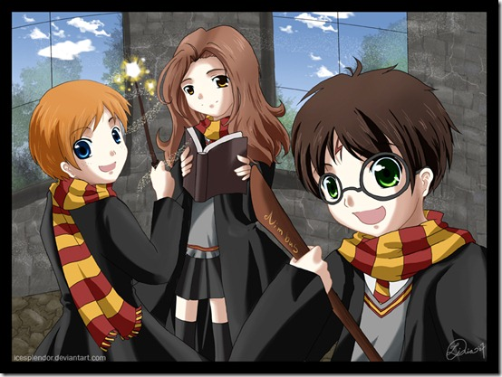 Harry Potter by Icesplendor thumb 60 Amazing Pictures Inspired By Harry Potter Movie