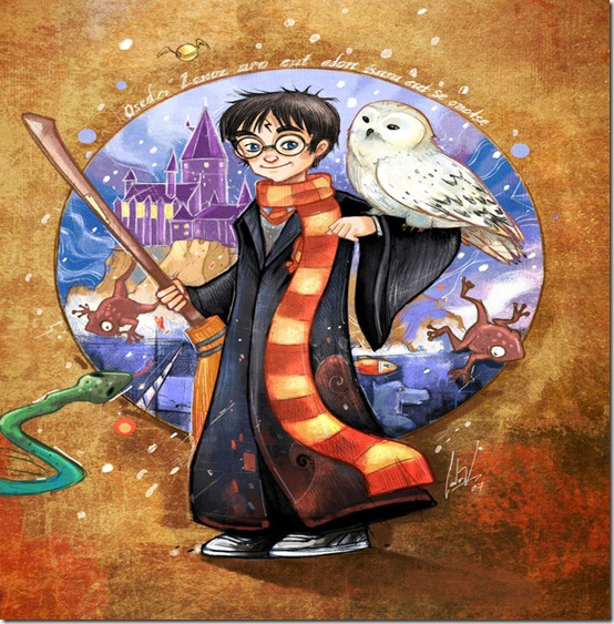 Harry Potter by ciclomono thumb 60 Amazing Pictures Inspired By Harry Potter Movie