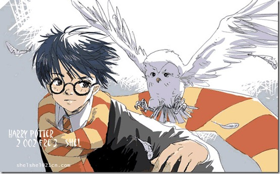Harry Potter by shel yang thumb 60 Amazing Pictures Inspired By Harry Potter Movie