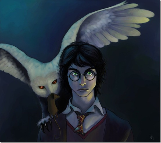 Harry Potter color by tolueno thumb 60 Amazing Pictures Inspired By Harry Potter Movie