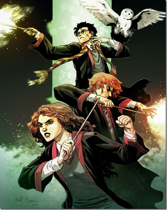 Harry  Potter by ReillyBrown thumb 60 Amazing Pictures Inspired By Harry Potter Movie