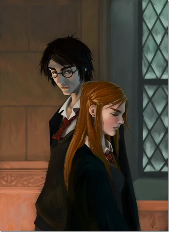 Harry and Ginny final 1 by tolueno thumb 60 Amazing Pictures Inspired By Harry Potter Movie