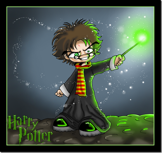 Making_Magic_with_Harry_Potter_by_Gothiccreep
